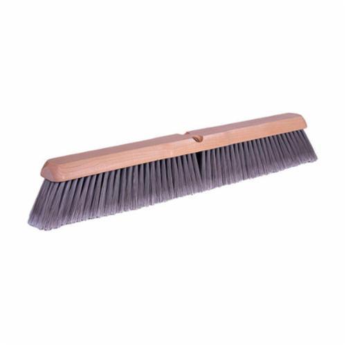 Weiler® 42041 Fine Sweep Brush, 18 in Block, 18 in OAL, 3 in Polystyrene Trim