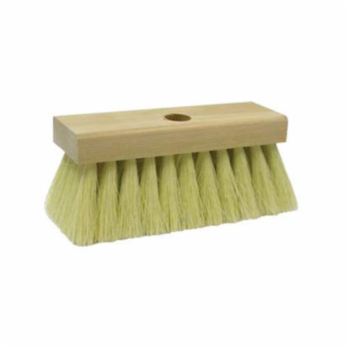 Weiler® 44011 5-Knot Block Economy Roof Brush, 7 in Block, 7 in OAL, 2 in L Tampico Trim