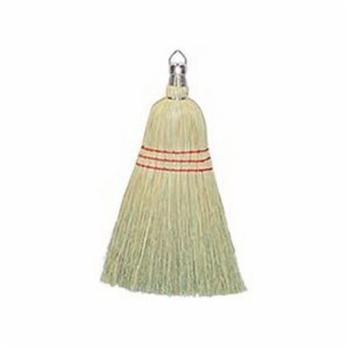 Weiler® 44266 Whisk Broom, Corn Fiber Bristle, 8-1/2 in Sweep Face, 10 in L Trim, Fiber Handle
