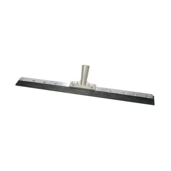 Weiler® 45534 Floor Squeegee, Heavy Duty Rubber Blade, Straight Blade Shape, 60 in L Handle