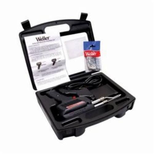 Weller® D650PK Heavy Duty Industrial Grade Soldering Gun Kit, 300 to 200 W, 120 V, 1100 to 900 deg F, 6 ft L Cord, Copper Tip