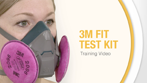 Respirator Test Fit Kit - 3M - Video