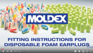 Install Foam Earplugs - Moldex - Video