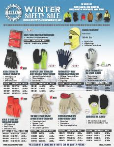 Winter Safety Sale - 10/1-3/31