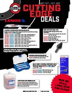 Cutting Edge Sale Flyer - 9/14-9/24