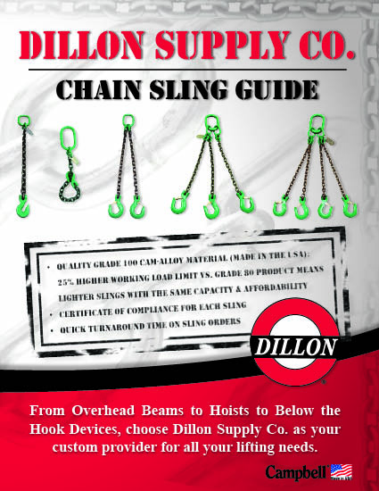 Campbell Chain Sling Guide