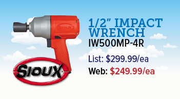 Sioux 1/2 inch impact wrench