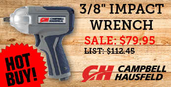 3/8 inch impact wrench at low price of 79.95