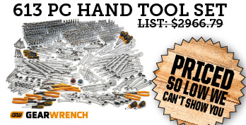 613 pc mechanics hand tool set at so low a price we can not show it