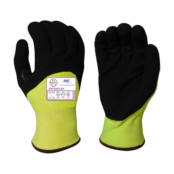 Amor Guys 04-322 Extraflex Cut Resistant Insulated Gloves, A4