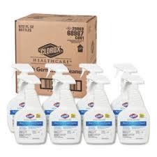 Clorox Healthcare 68967 Disinfectant Cleaner, Spray Bottle, 22oz