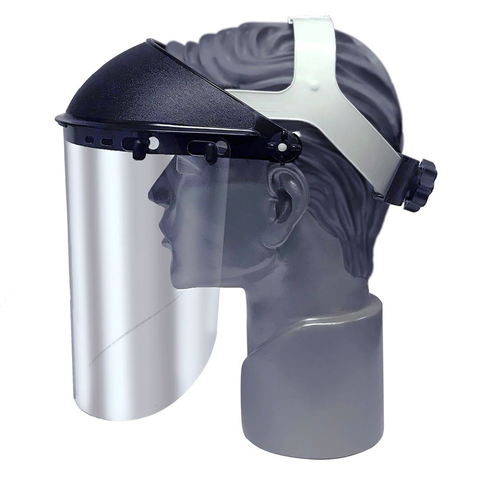 Jackson Safety 170SB Faceshield Visor with Ratchet Headgear