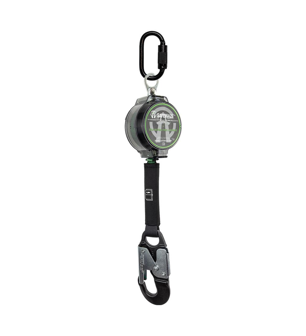 Safewaze 018-5009, 7' Web Retractable with Aluminum Snap Hook
