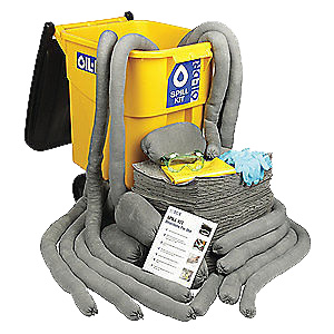 OIL-DRI® L90550 Portable Spill Kit, Universal 50 gal