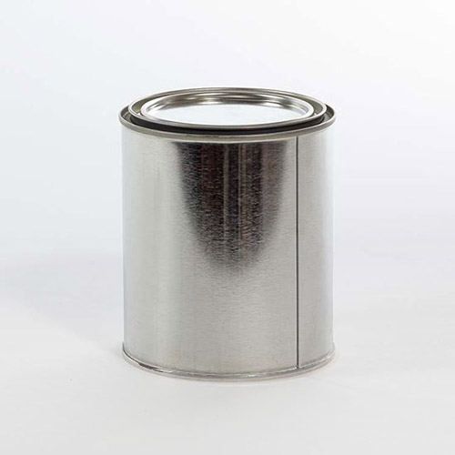 404 x 414 Quart Paint Can Gray Lined