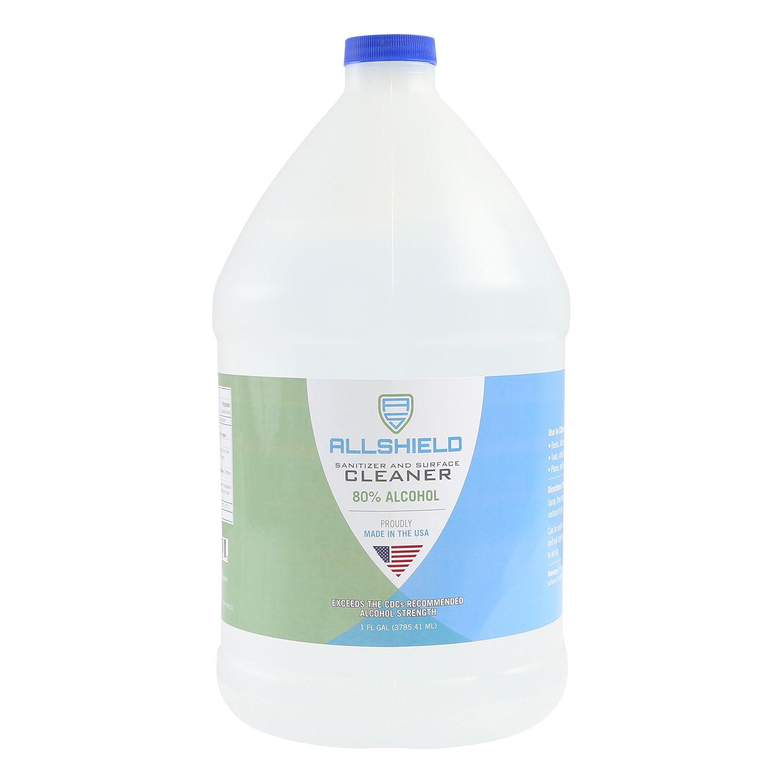 AllShield 22528 Gel Hand Sanitizer, 1 Gallon Refill