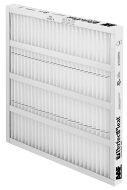 "American Air Filters 172-112-863 Perfect Pleat Panel Air Filter, 24"" x 24"" x 2"""