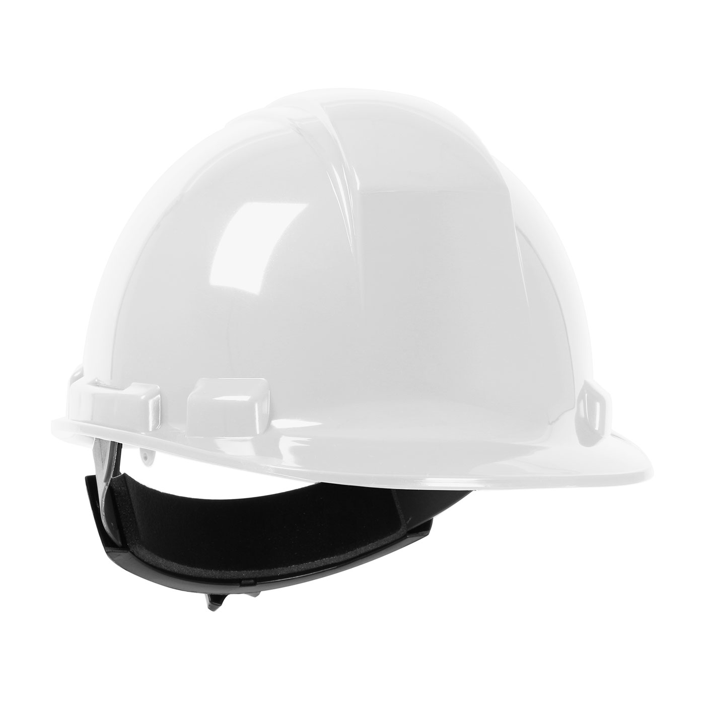 PIP® Dynamic Whistler™ 280-HP241R-01 Cap Style Non-Vented Hard Hat with Wheel Ratchet, White