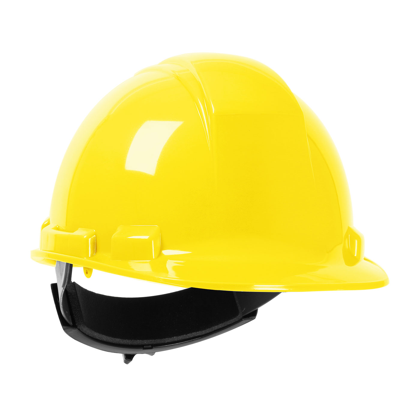 PIP® Dynamic Whistler™ 280-HP241R-02, Cap Style Non-Vented Hard Hat with Wheel Ratchet, Yellow