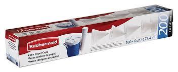 Rubbermaid® 2B4112WHT 6 OZ CONE CUPS