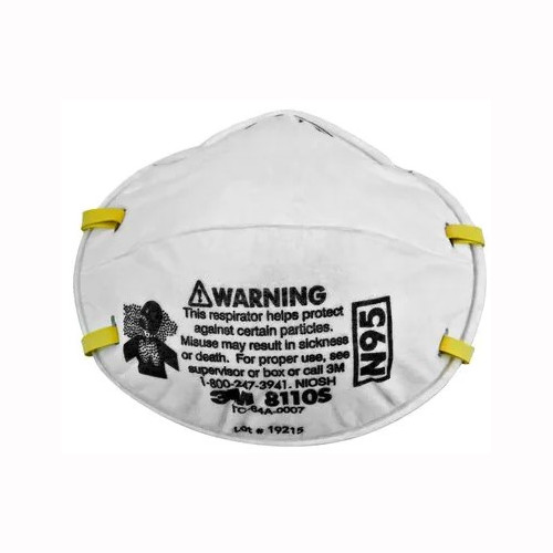 3M 8110-S N95 Particulate Respirator