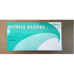 510K Medical Grade Non-Sterile Nitrile Gloves, 100/box