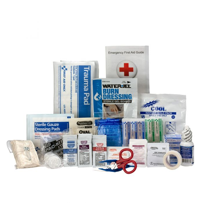 25 Person ANSI A+, Type III First Aid Kit with Plastic Case