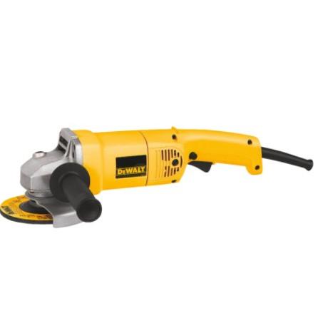 DeWALT® DW831 Heavy Duty Medium Angle Grinder, 5 in Dia Wheel, 5/8-11 Arbor/Shank, 120 VAC, Yellow, Trigger Switch