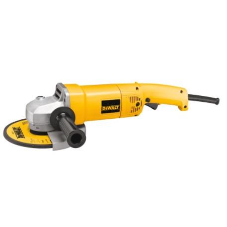 DeWALT® DW840 Heavy Duty Medium Angle Grinder, 7 in Dia Wheel, 5/8-11 Arbor/Shank, 120 VAC, Yellow, Trigger Switch