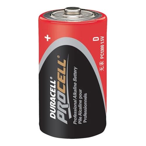 Alkaline Battery, Manganese Dioxide, 1.5 VDC Nominal, D