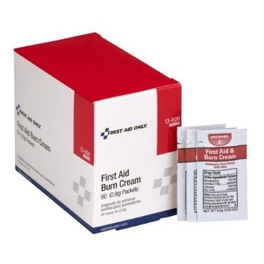 First Aid Only® Burn Cream (60/Box)
