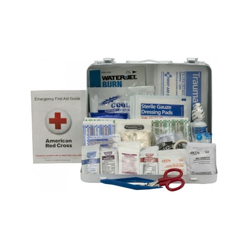 25 Person ANSI A+, Type III First Aid Kit with Metal Case