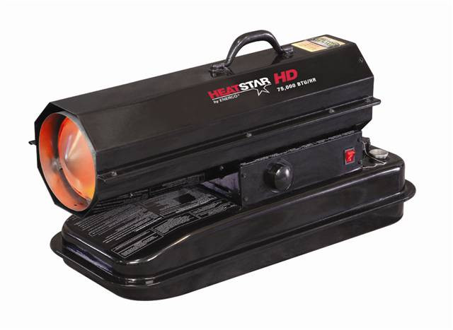 HEATSTAR F170275 Forced Air Industrial Heater, 75,000 Btu, Kerosene