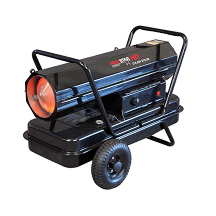 HEATSTAR F170380 Forced Air Industrial Heater, 210,000 Btu, Kerosene