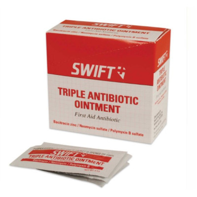 North® by Honeywell 232124 Triple Antibiotic, Foil Packing, Formula: Bacitracin/Neomycin/Polymyxin-B
