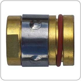 Inweld 169-729P Miller Brass Nozzle Retainer for 40AL, M25/25M, M40 (2/Pack)