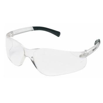 MCR BK110PF BearKat BK1 Safety Glasses, Anti-Fog, Clear Lens, Plastic Frame, Polycarbonate lens, ANSI Z87+ and CSA Z94