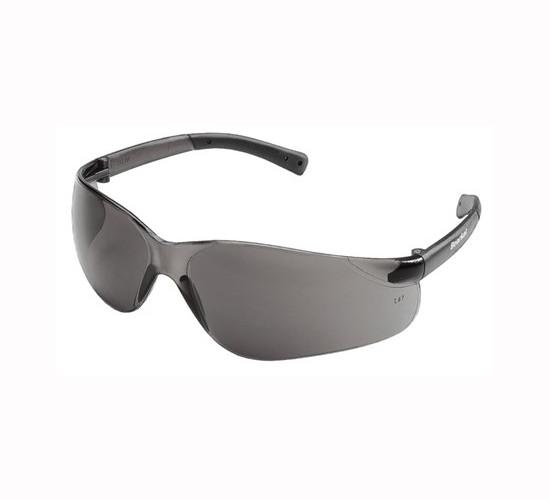 MCR BK112PF BearKat BK1 Safety Glasses, Anti-Fog, Gray Lens, Plastic Frame, Polycarbonate lens, ANSI Z87+