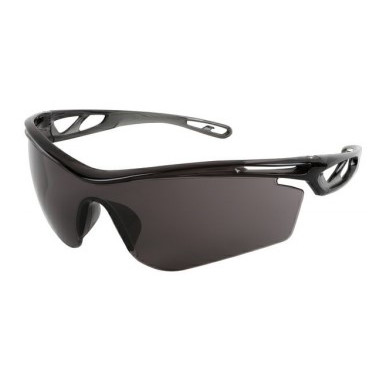*Free with Purchase- MCR Safety CL412PF Checklite® CL4 Single Lens Safety Glass, MAX6® Anti-Fog Lens Coating, Gray Lens, Hollowed Out/Lightweight Frame, Polycarbonate Lens