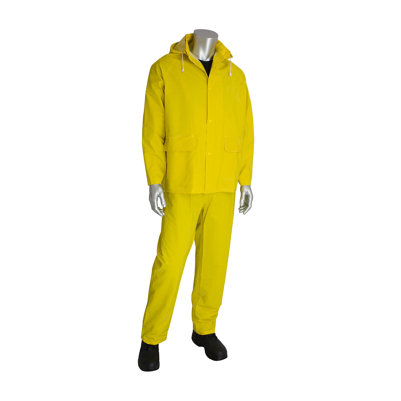 Opsial P702LUL Yellow Rain Suit, 3 piece