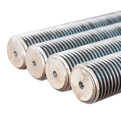 "3/8"" x 6' Zinc-plated Steel Threaded Rod"