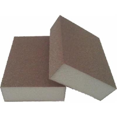 Webb Abrasives 100616 Medium & Fine Gray Foam Standard Block Sponge